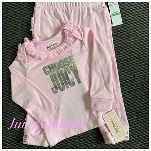 Juicy Couture 2 piece set